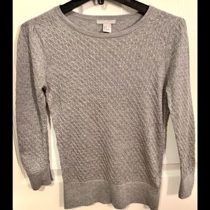 H&M Heather Gray Lightweight Sweater Size S